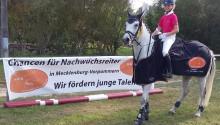 Fay Marine Heuer_ Siegerin FÖV Springcup